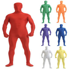 Zentai Second Skin Full Body Lycra Spandex Hooded Suit Party Halloween Costumes