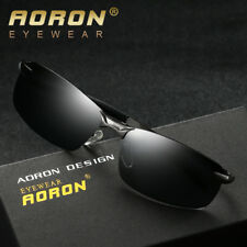 Polarized Mens Sunglasses Aviator Outdoor Driving Eyewear Holiday Shades Cool