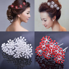 6Pcs Pearl Crystal Hairpins Hairstyles Wedding Bridal Hair Pins Hair Jewelry