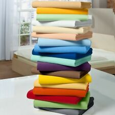 Soft Bedding Duvet Set+Fitted Sheet 1000TC Egyptian Cotton UK Sizes All Solid
