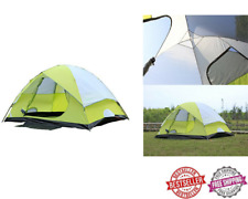 Outdoor Waterproof Family Hiking Tent Camping W/ Carry Bag 2/4/6 Person Capacity