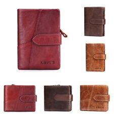 Luxury Genuine Leather Wallet Men Famous Brand Short Purse Male Mini Coin Wallet