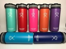 18oz Hydro Flask Insulated Stainless Steel Water Bottle, Wide Mouth