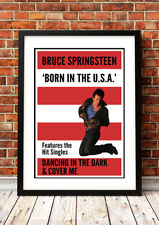 Bruce Springsteen - American Rock Band Concert Poster Prints - 8 to choose from.