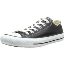 Converse Chuck Taylor All Star Ox Black Leather Trainers