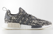 NEW adidas Originals NMD_R1 BOOST SHOES CQ0858 Grey/Linen/White  c1 xr1