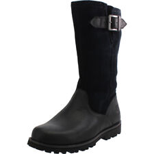 Timberland Asphalt Trail Briarcliff Black Leather Junior Knee-high Boots