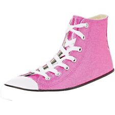 Converse Chuck Taylor All Star Glitter Hi Bright Violet Synthetic Youth Trainers