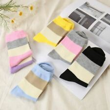 Spring And Autumn New Korea Stripe Cat Women Socks Cute Cotton Warm Casual