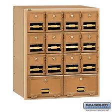 Salsbury Brass Mailbox - 14 Doors - 2014RL Rear Loading or 2014FL Front Loading