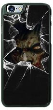 Halloween Zombie Broken Glass Phone Case Cover Fits iPhone 7 Samsung Moto 4th G