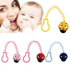Baby Pacifier Chain Infant Boys Girls Dummy Soother Nipple Clip Holder