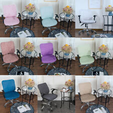 Fashion Office Computer Chair Covers Swivel Rotate Office Seat Slipcovers