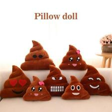 Poop Poo Family Emoji Emoticon Pillow Stuffed Plush Toy Soft Cushion Doll Gift A