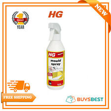 HG Mould Cleaner Spray 500ml Removes All Brown & Black Stains ,Fungus & Algae