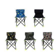 Outdoor Packable Camping Chair Backpacking Beach Seat Folding Portable Chair