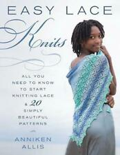 Easy Lace Knits by Anniken Allis (English) Paperback Book Free Shipping!