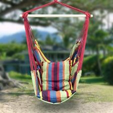 Hanging Hammock Rope Chair Swing Seat Indoor Outdoor Garden Patio Yard New