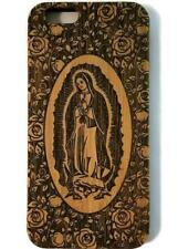 Virgin of Guadalupe bamboo wood iPhone case iPhone 6, iPhone 6s, iPhone 6 plus,