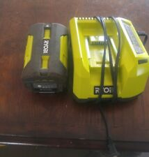 ryobi 40 volt lithium batter and charger