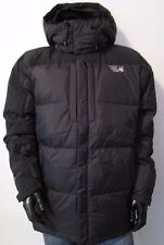 NWT Mens Large Mountain Hardwear Chillwave Hooded Down Winter Parka Jacket Black