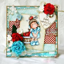 Album Decor Embossing Scrapbooking Stencils Cutting Dies Girl Clear Stamps