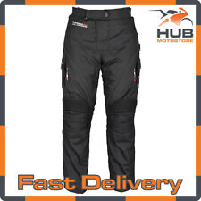 Oxford Wildfire 2.0 Waterproof Motorcycle Motorbike Trousers - Black Regular
