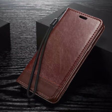For Samsung Galaxy S9 S8 Plus S7 S6 Edge Leather Case Wallet Magnetic Flip Cover