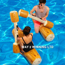 4Pcs/set Water Sports Inflatable Bumper Game Pool Beach Float Ride-On Row D