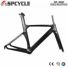 T1000 Carbon Road Bike Frame Aero DI2 & Machinery TT Bicycle Frame X Brake BB386