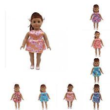 Doll Accessory Sleeveless Short Skirt Clothes for 18inch American Girl Doll