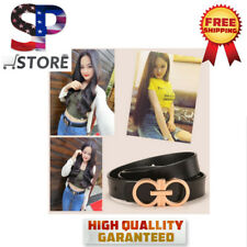 2018New Designer GG Brands Belt Fashion Jeans Belts For Women Gifts Faux Leather