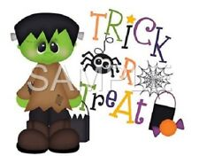 Halloween personalized iron on transfer (choice of 1)