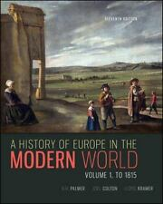 A History of Europe in the Modern World, Volume 1 by  Palmer, R. R.|Colton, J…