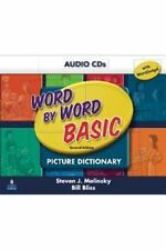 **BRAND NEW** WORD BY WORD BASIC : PICTURE DICTIONARY 2nd Edition AUDIO CDs