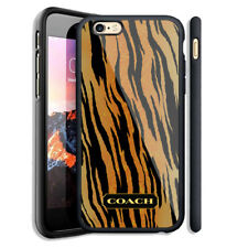 Top Luxury Coach Tiger Skin Case For iPhone 6 6+ 6s 6s+ 7 7+ 8 8+ X Samsung Note