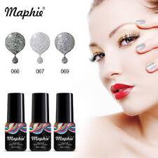 Maphie 3pcs Set Gel Nail Polish Soak Off UV Nail Art Nude Manicure Diy Salon 6ML