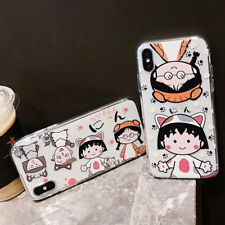 Silicone Sakura Momoko Cute Phone Case Cover For iPhone XS Max X XR 6 7 8 Plus