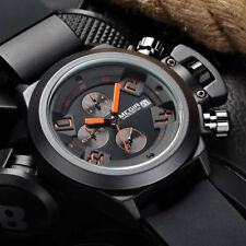 MEGIR CHRONOGRAPH Sport Function Mens Watches Top Brand Luxury Silicone Wrist