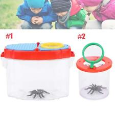 Insect Viewer Box Bug Catcher Magnifier Microscope Box Science Toy Kids Gift