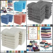 Turkish Luxury Hotel & Spa Al Colors Wash Cloth Set of 12 - 100% Genuine Turkish