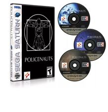 POLICENAUTS Sega Saturn (Please read Descption before purchase) Or Pick