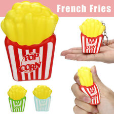 Cute Squishies French Fries Slow Rising Cream Scented Keychain Stress Relief Toy
