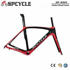 Spcycle Aero Bike Carbon Frames,700C Cycling Bicycle Carbon Frames 50/53/55/57cm