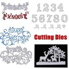 Xmas Metal Cutting Dies Stencil Scrapbooking Album Decor Embossing DIY Crafts