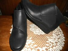Womens Clarks Cloud Steppers Caddell Rush Ankle Boots Shoes Size 8.5W  9  11 NEW