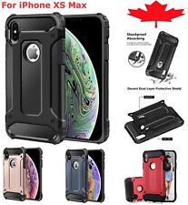 For iPhone XS Max Case - Shockproof Heavy Duty Armour Hybrid Dual Layer Cover