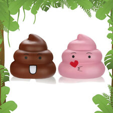 7cm Squishies Kawaii Emoji Poo Super Slow Rising Cream Scented Stress Relief Toy