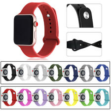 Sport Soft Replacement Silicone Strap Band For Apple Watch 40/44mm Series 4/3/2
