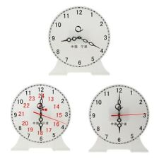 Student Learning Clock Learn to Tell Time Teacher Teaching Time Clock - 3 Styles